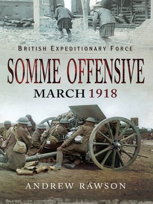 cover image of Somme Offensive--March 1918
